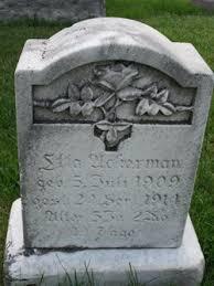 Etta Ackerman (1909-1914) - Find A Grave Memorial