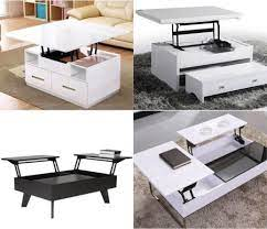 1pair lift up top coffee table lifting