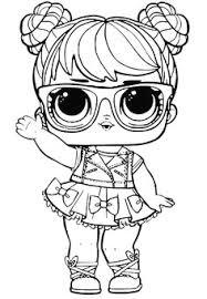 Lol Surprise Doll Coloring Pages P Gina 3 Colora A Sua Boneca De Con