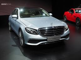 mercedes benz new car releaseNew MercedesBenz EClass launches in Detroit as BMWs 5 Series