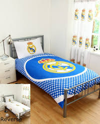 real madrid duvet cover sets single