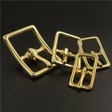 <b>1 x Solid Brass</b> Belt Buckle Middle Center Bar Single Pin Buckle for ...