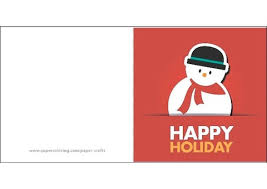 Template Of A Snowman Card With Snowman Template Free Printable Papercraft Templates