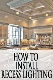 ideas for painted furniture. How To Install Recessed Lighting In Your Kitchen Ideas For Painted Furniture