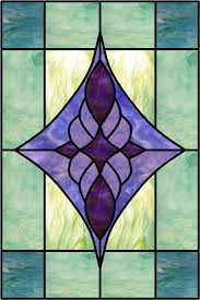 caviglia a decorative window stained glass