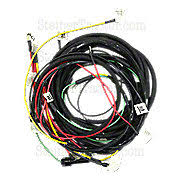 ford tractor parts ford tractors restoration quality parts fds3782 restoration quality wiring harness for tractors using 1 wire alternator