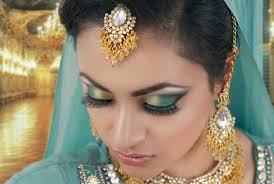 jade and black smokey eye makeup indian asian stani make up tutorial you