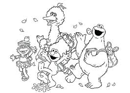Printable Sesame Street Coloring Pages Coloring Pages Free Printable
