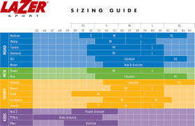 Mips Chart Lazer Beam Mips Helmet Sizing Chart
