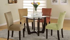table and round oak dining sets furniture room seater glass wooden wood exciting chairs kirk set