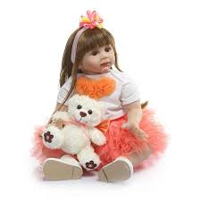 Bebe Reborn <b>60cm Silicone Reborn Baby</b> Doll Toys 24 Inch Vinyl ...