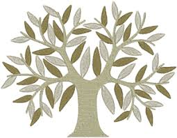 Machine Embroidery Patterns Best Family Tree Embroidery Design