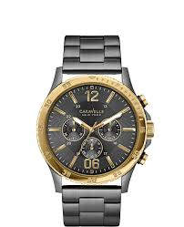 17 best images about mens caravelle new york watches caravelle new york men s gunmetal chronograph caravelle new york by bulova