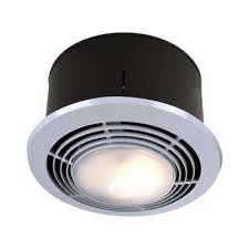 70 cfm ceiling bathroom exhaust fan with light and heater