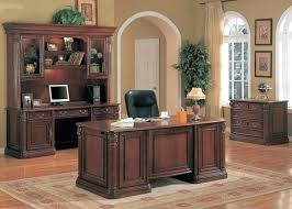 wooden home office desk. Wood Office Desk Furniture Home Solid Fancy . Wooden W
