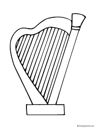 Brass Instruments Coloring Pages Queenandfatchefcom