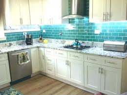 blue glass backsplash kitchen blue glass kitchen crystal glass tile brick strip kitchen tiles bathroom wall
