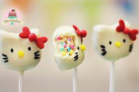 Hello Kitty Cake Pops Cakes Design