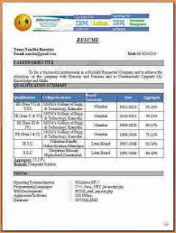 Sle Resume For Freshers Engineers Computer Science Sle Resume