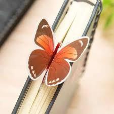 Ellen Brook <b>1 Piece</b> Classic Butterfly Material Paper <b>Bookmarks</b> ...