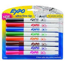 Shop Expo Assorted Low Odor Dry Erase Marker 8 Per Set