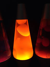 Custom 145 Lava Lamp Orange Liquid Yellow Wax Previously Had