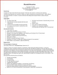 Resume Samples For Production Engineer Lovely Warehouse Resume