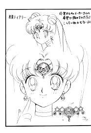 セーラームーン初期設定 Sailor Moon Concept Art セーラームーン
