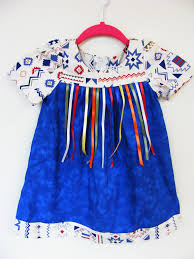 Applique Work Designs On Shirts 2015 Toddler Ribbon Dress On Etsy Native American Clothing