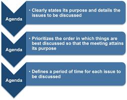Free Business Meeting Agenda Template