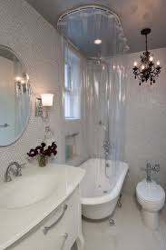 clawfoot tub shower curtain solutions. shower clawfoot tub curtain solutions