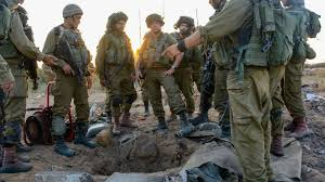 at least hamas tunnels extend into tv report says the idf infantrymen congregating around a tunnel entrance in gaza 24 2014