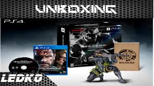 Metal Gear Solid Ground Zeroes Ps4 Collectors Edition