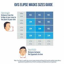 Half Mask Respirator Size Chart Gvs Elipse P100 Spr457 Medium Large Half Mask Respirator Blue