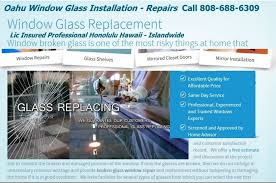 broken window glass repair