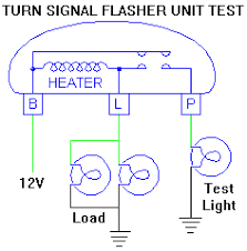 turn sugnal flasher unit 12v Flasher Relay Wiring Diagram flasher test diagram Signal Flasher Wiring-Diagram