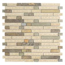 luxembourg stone mosaic tile in palais stone metal mosaic tile glass and stone mosaic tile menards tumbled stone mosaic wall tile