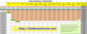 debt snowball calculator free debt snowball excel rome fontanacountryinn com