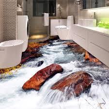 Nach 3d Boden Tapete Badezimmer Wc Schlafzimmer Pvc Boden Aufkleber