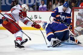 Carolina Hurricanes Vs New York Islanders Game 1 Lineups