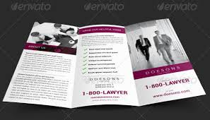 3 column brochure 10 well designed law firm brochures to be professional with your