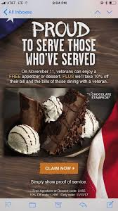 Longhorn desserts longhorn steakhouse has proven itself to be one of the most popular steakhouse chains in the united states. Free Appetizer Or Dessert At Longhorn Steakhouse For Veterans On Veterans Day Freebies