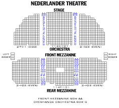 Pretty Woman Seating Chart Nederlander Theatre Playbill