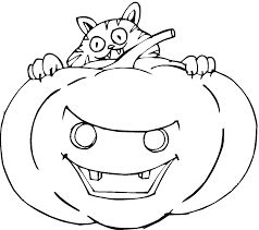 Coloring Pages Pumpkin Gif 1200 1065