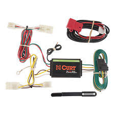 trailer wiring harness curt custom vehicle to trailer wiring harness 56165 for 2006 2012 toyota rav4