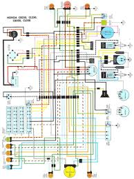 honda cb350 wiring diagram honda wiring diagrams