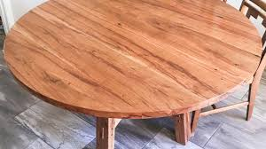 Building Dining Table Building A Round Dining Room Table In Texas Pecan Youtube