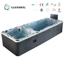 ce approved luxury combo hot tub above ground pool