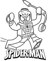 In the movie the amazing spiderman. 40 Spider Man Coloring Pages Topcoloringpages Net