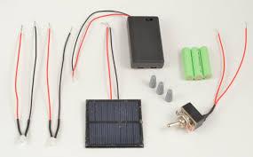Solar Light Parts Level Up Village 2 Led Solar Light Pre Wired Course Kit